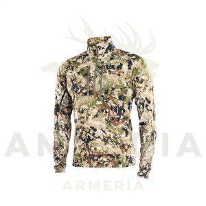 camiseta sitka de caza camuflaje subalpine